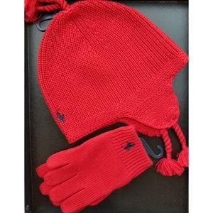 Glove and beanie